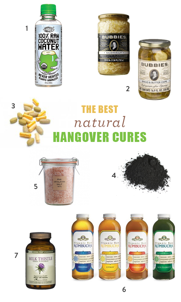 Best Natural Cures For Hangover