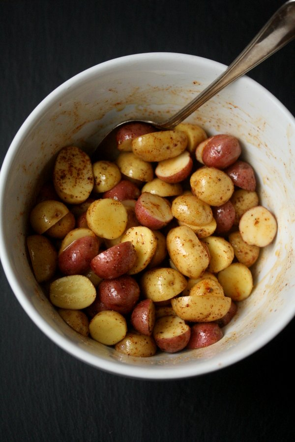 Sumac Roasted Baby Potatoes