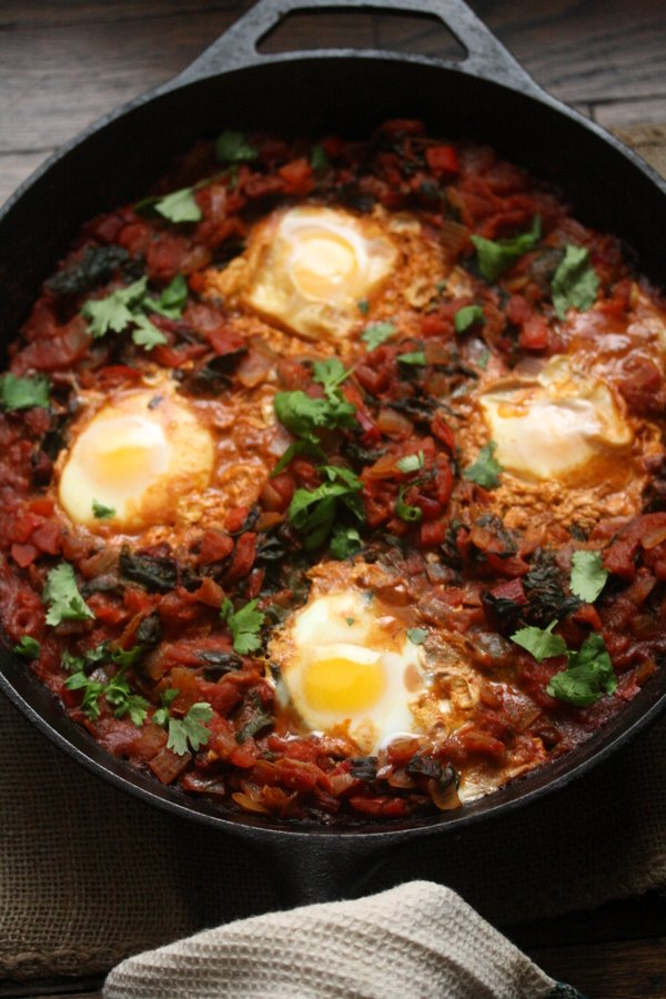 IMShakshouka with Red Chard