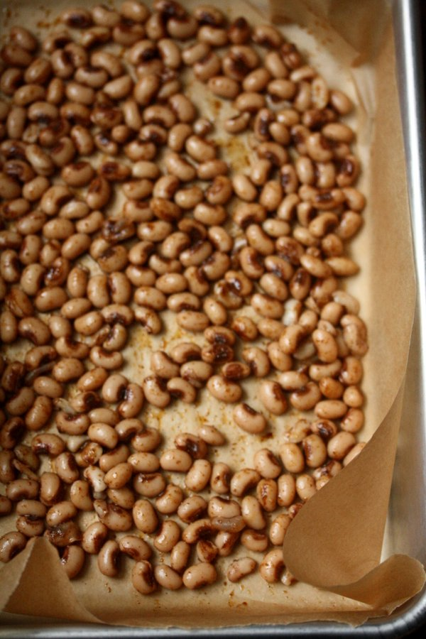Crispy Black Eyed Peas