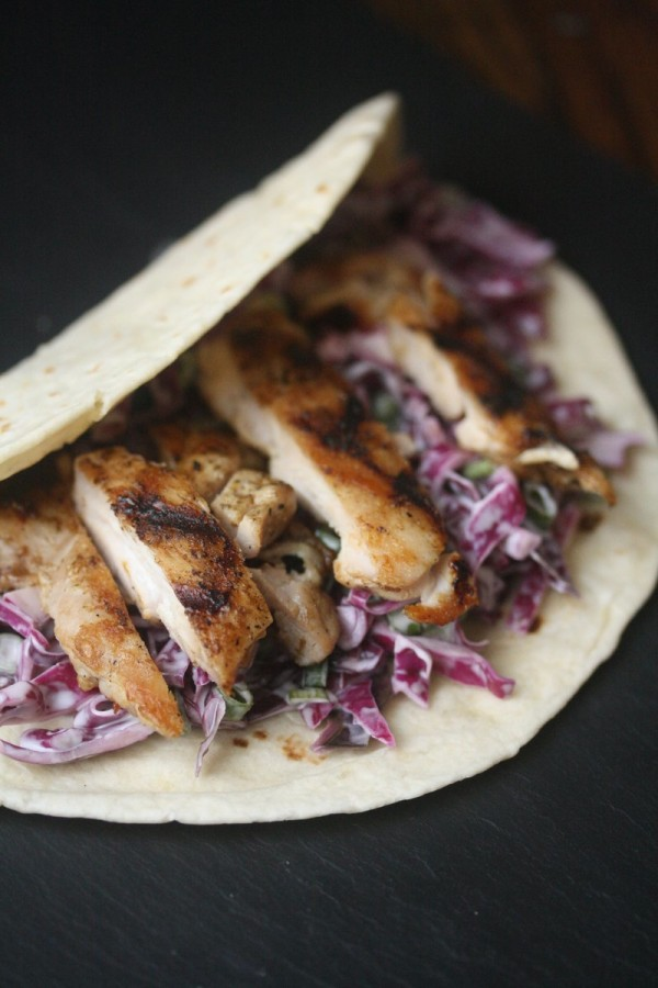 Phoebe Lapine_Grilled Chicken Tacos with Creamy Cabbage Slaw _LoRes
