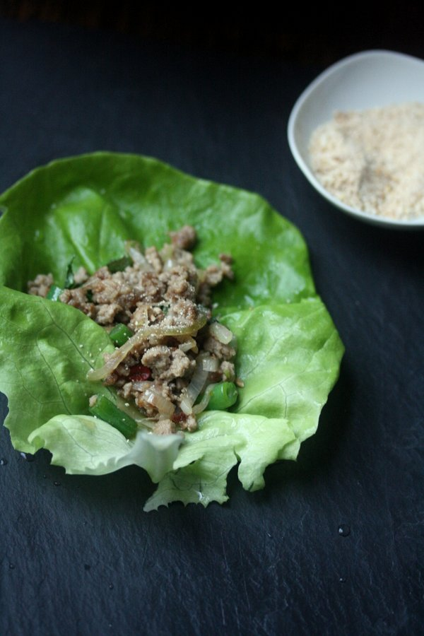 Larb Lettuce Wrap Recipe