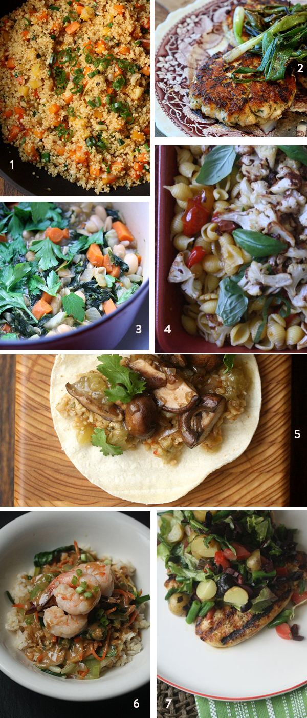 Healthy Weeknight Dinners for 2