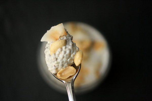 IThai Peanut Chia Pudding