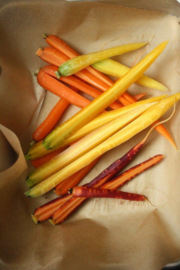 Roasted Carrots with Za'atar