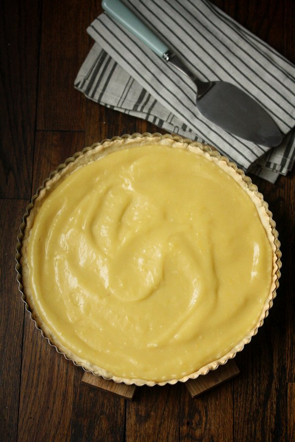 Lemon Curd Tart with Gluten-Free Almond Crust and Dairy-Free Lemon Curd