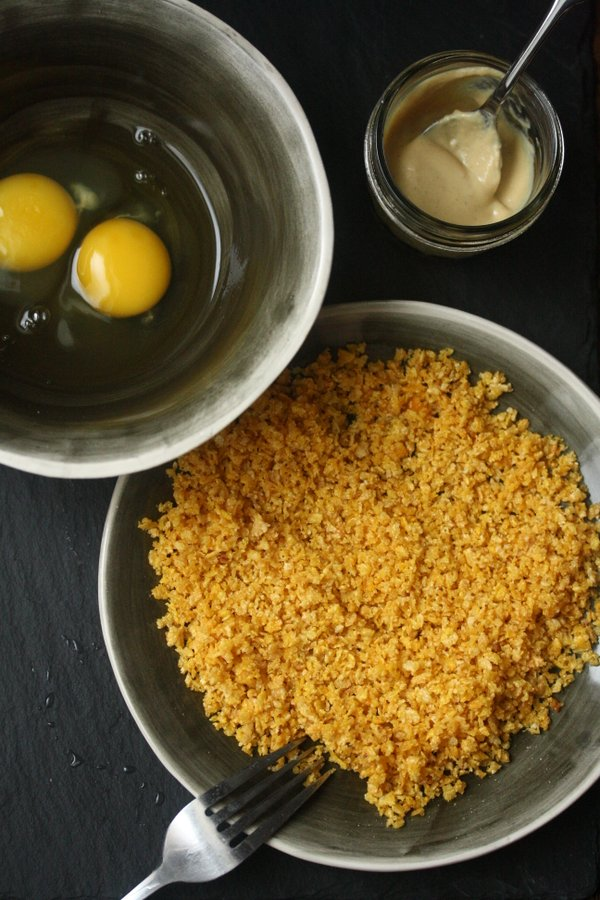 Organic Corn Flake Breading