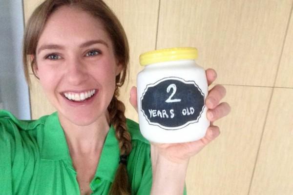 celebrating my 2 year anniversary with a lactose free lemon tart recipe