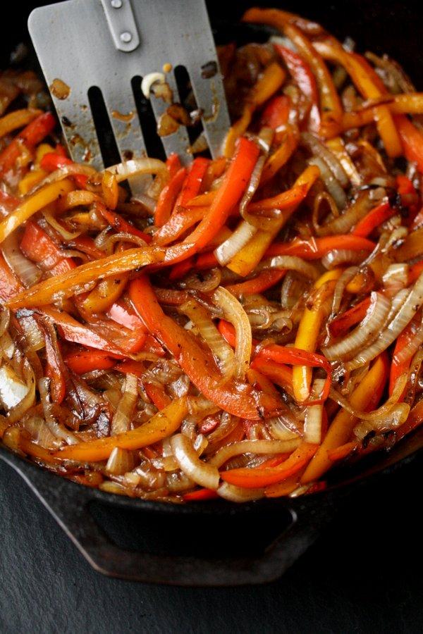 Italian Sausage, Onion and Pepper Frittata