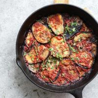 Turkish Eggplant Casserole with Tomatoes a.k.a. Imam Bayildi {Video}