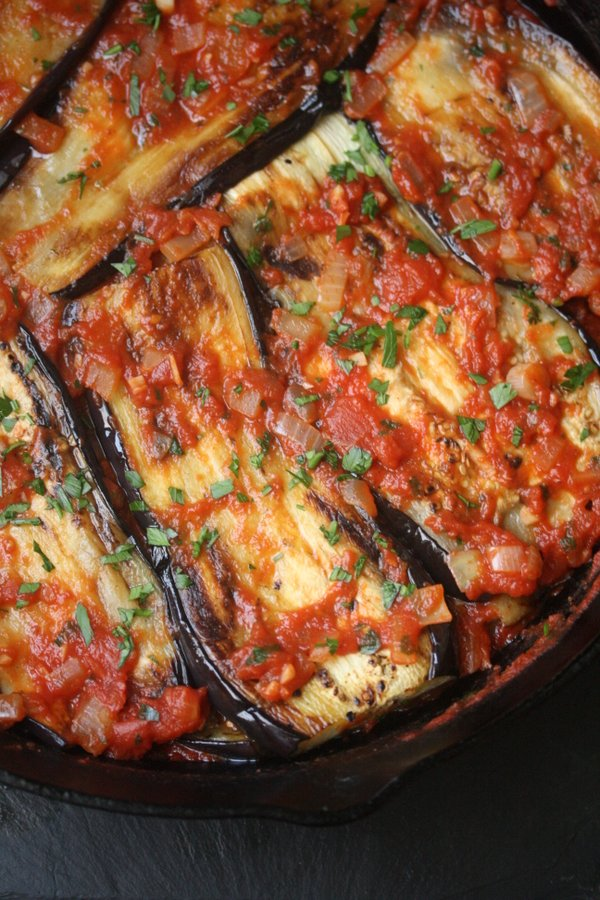 Imam Bayildi Healthy Turkish Eggplant Casserole Recipe