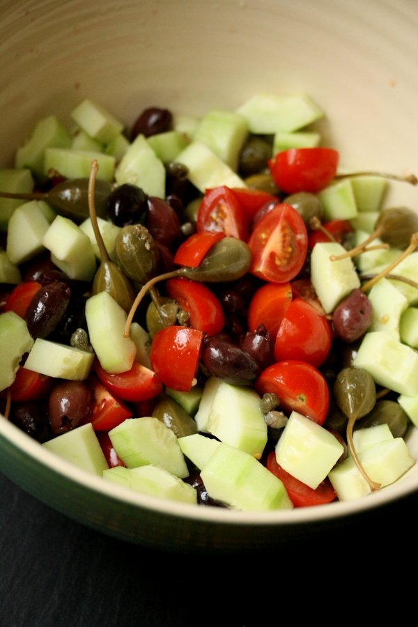 Healthy Greek Potato Salad with Olives and Feta   Quick & Easy   Gluten-Free Homemade