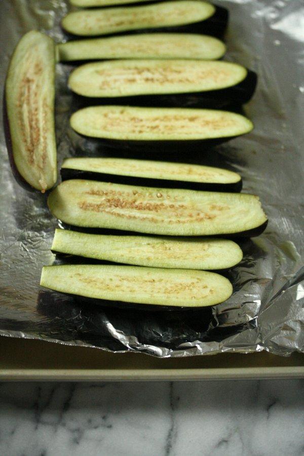 Japanese eggplant for my miso glazed eggplant side dish