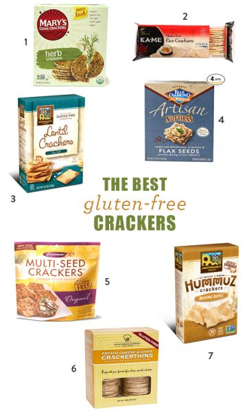 The 7 Best Gluten-Free Crackers + Easy Appetizers To Serve