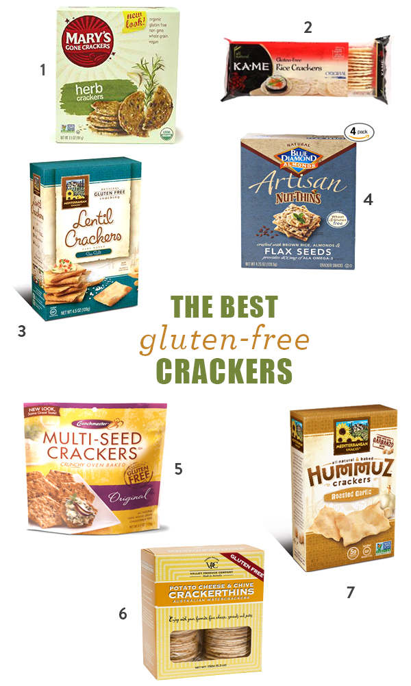The Best Gluten-Free Crackers - my favorite brands and gluten-free dips to go with them
