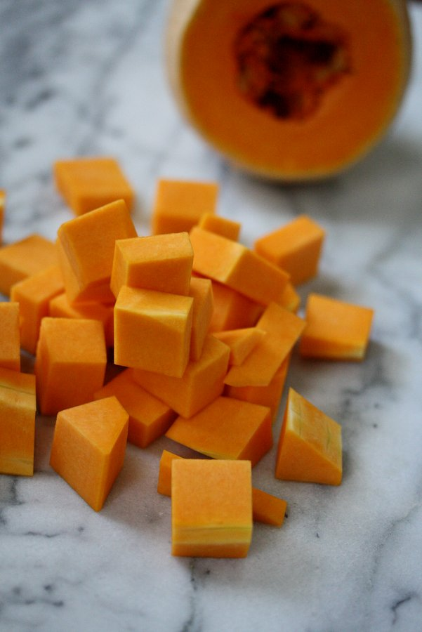 a big beautiful butternut squash recipe