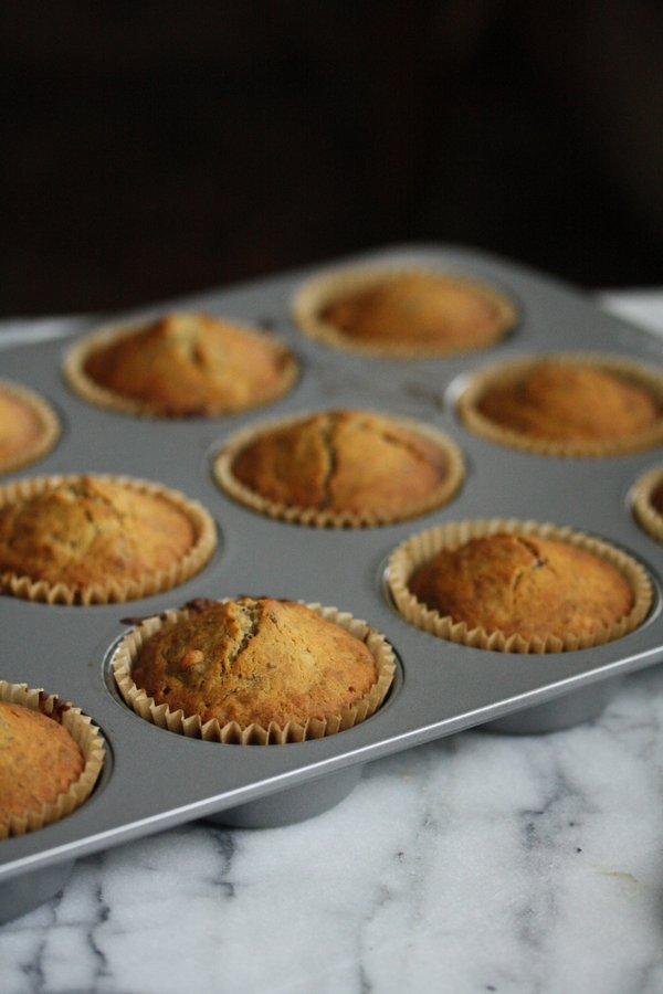 gluten free banana muffins - love this healthy recipe!