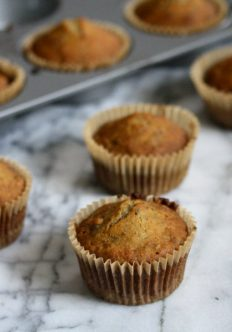 Gluten-Free Banana Muffins with Chocolate Chips