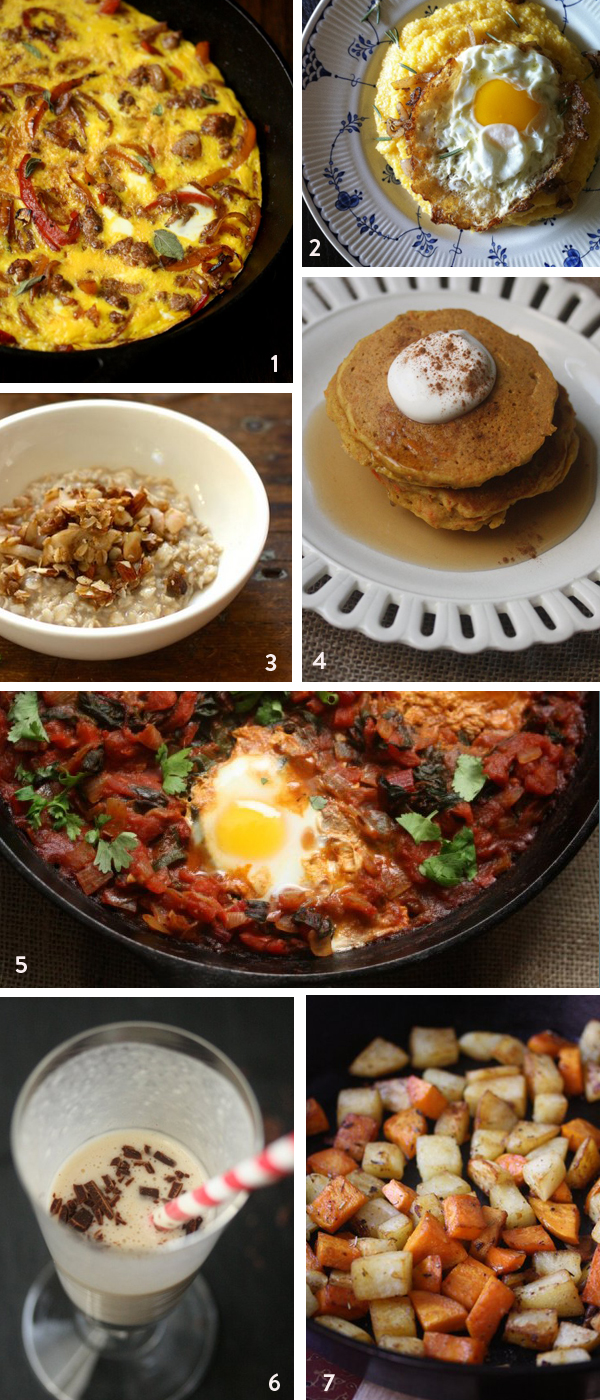 7 Best Healthy Hangover Brunch Recipes | Gluten-Free Pancakes, Healthy Baked Eggs and Apple Pie Oatmeal Gluten-Free Breakfast Recipes | Healthy Brunch Recipes