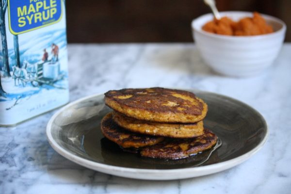Gluten-Free Pumpkin Pancakes | Healthy Breakfast