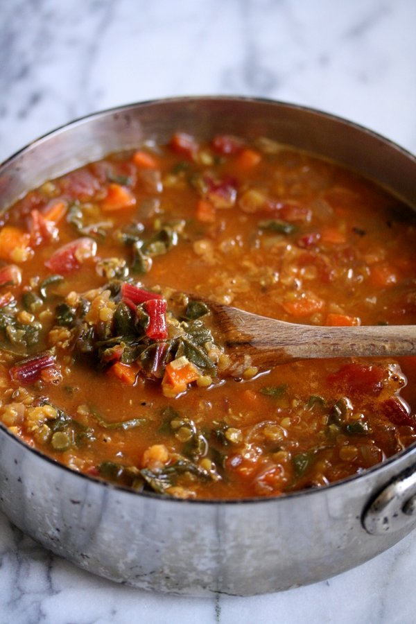 Moroccan red lentil soup with chard easy vegetarian healthy moroccan red lentil soup with chard easy vegetarian simple healthy forumfinder Images