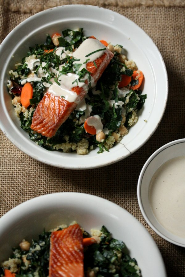 Spring Pesto Quinoa Bowls from Simply Quinoa