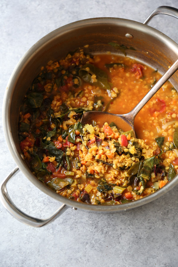 Moroccan Red Lentil Soup Recipe Harira