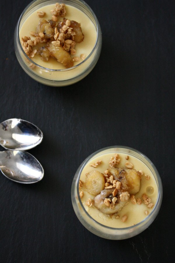Healthy Banana Pudding Recipe with Rum Compote | Gluten-Free, Refined Sugar-Free, Dairy-Free | Easy Desserts | Southern