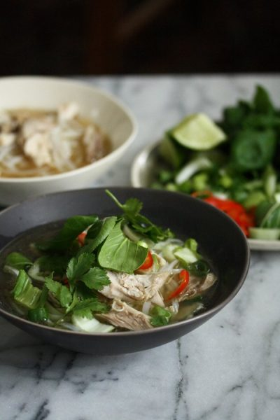 Easy Vietnamese Chicken Pho Recipe With Herbs Pho Ga