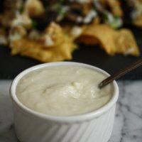 Cauliflower Cheese Sauce