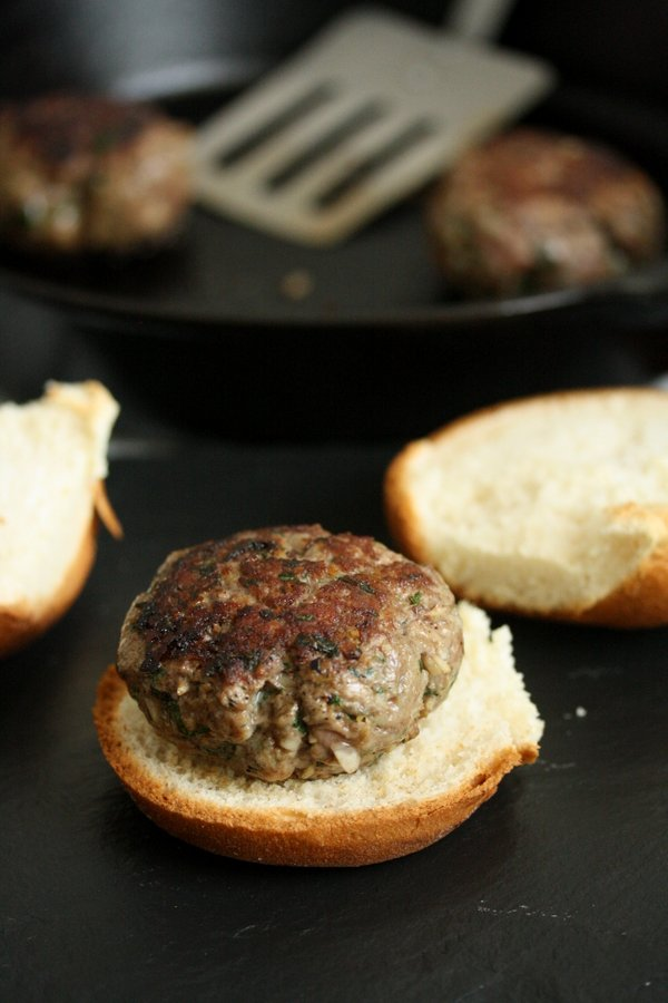 The Best Greek Lamb Burgers Recipe with Mint Tzatziki | Healthy, Grilled Dinner
