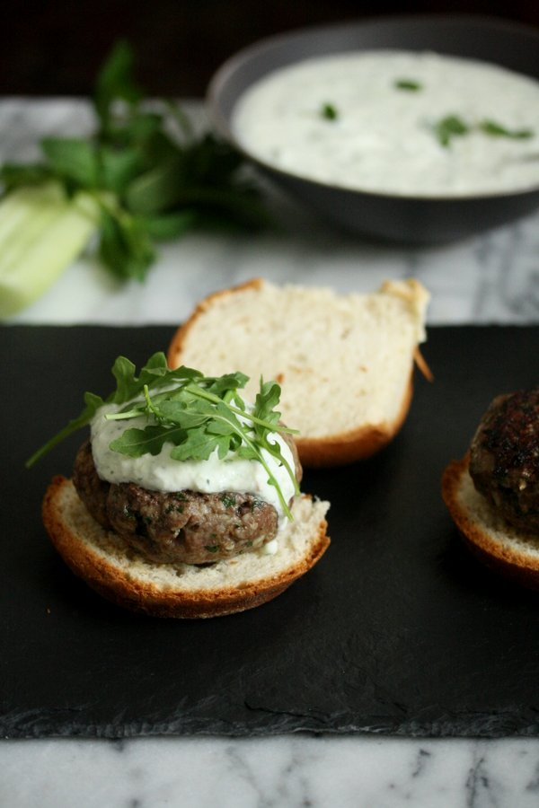 The Best Greek Lamb Burger Recipe with Mint Tzatziki | Healthy, Grilled Dinner