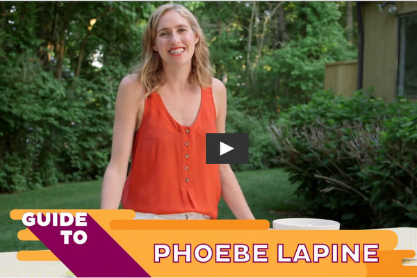 Phoebe Lapine Video // Healthination Guide to Summer // Grilled Buffalo Chicken Quesadillas