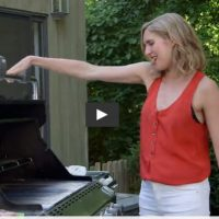 Video: Grilled Flank Steak with Gazpacho Sauce on Healthination