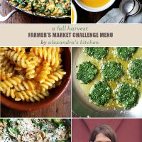 A Fall Harvest Farmer's Market Menu From Alexandra's Kitchen