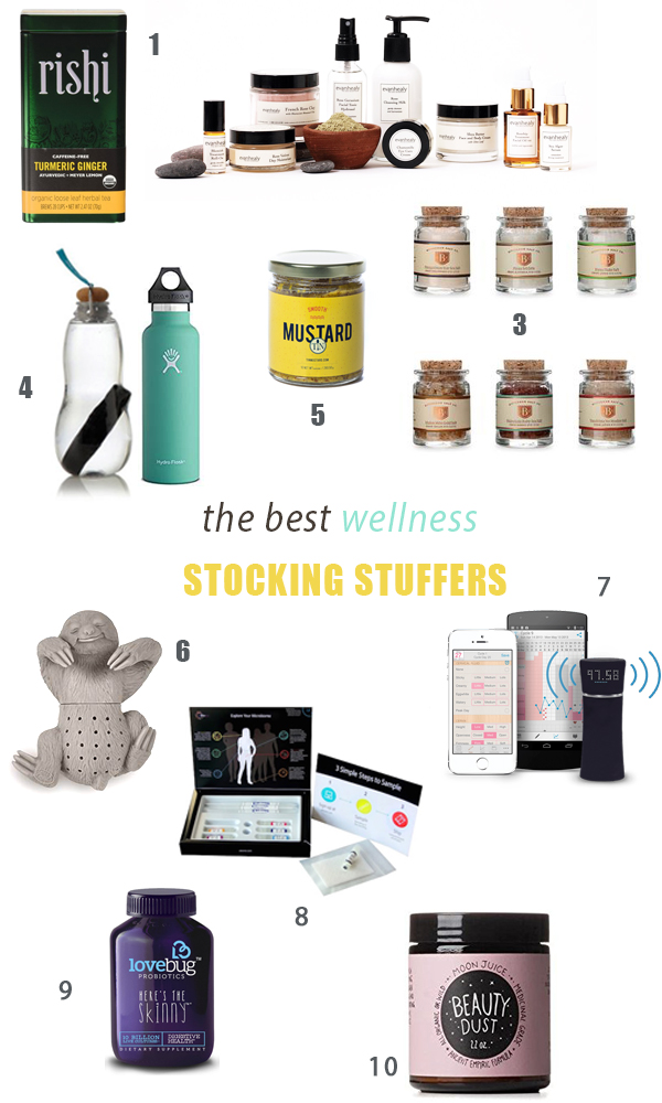 The Best Wellness Stocking Stuffers of 2016, plus more healthy gifts for your loved ones.
