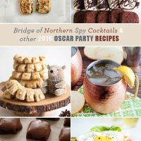 Bridge of Northern Spy Cocktails and Other 2016 Oscar Party Recipes