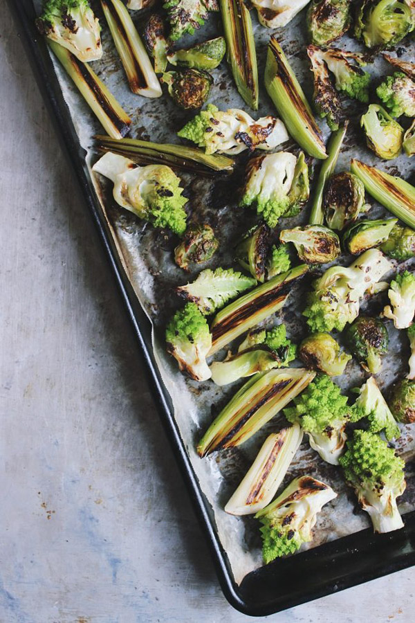 The Best Vegan Recipes From Sherrie Castellano of With Food + Love | Winter | roasted-romanesco-salad-1