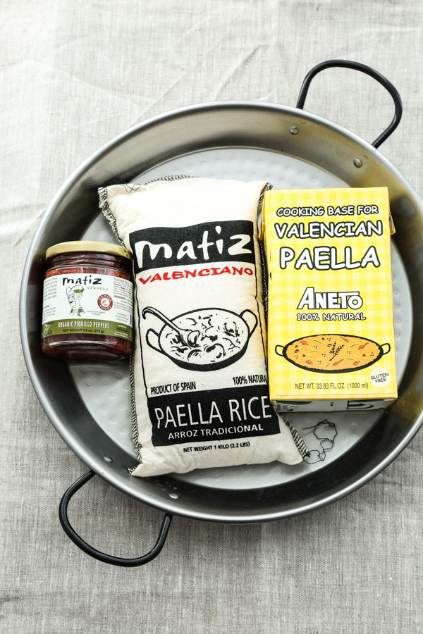 An Easy Spanish Paella Recipe with Saffron, Merguez and Chard | Authentic, Traditional Rice Dish | www.FeedMePhoebe.com
