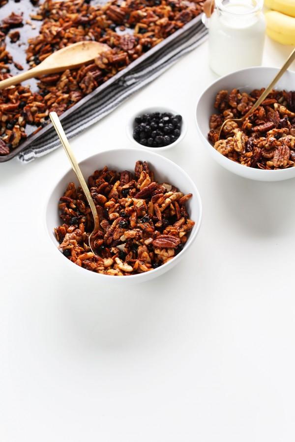 Grain-Free Granola   Minimalist Baker   LOW FODMAP RECIPES