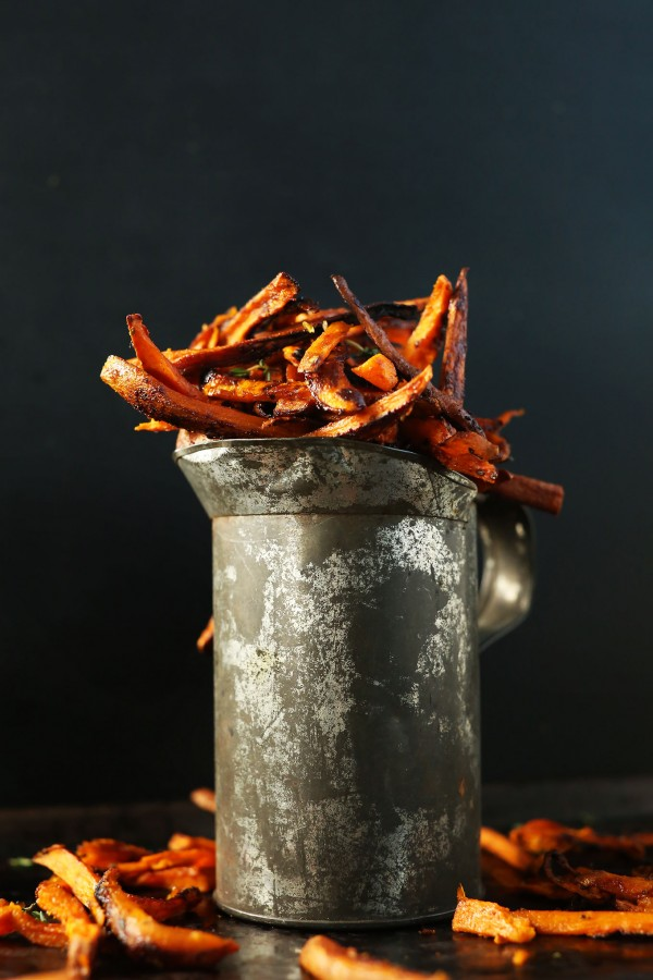Cajun-Sweet-Potato-Fries-Perfectly-spicy-sweet-and-delicious-vegan-