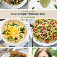 A Mean, Green Farmer's Market Menu From Well Plated (For St. Paddy's Day!)