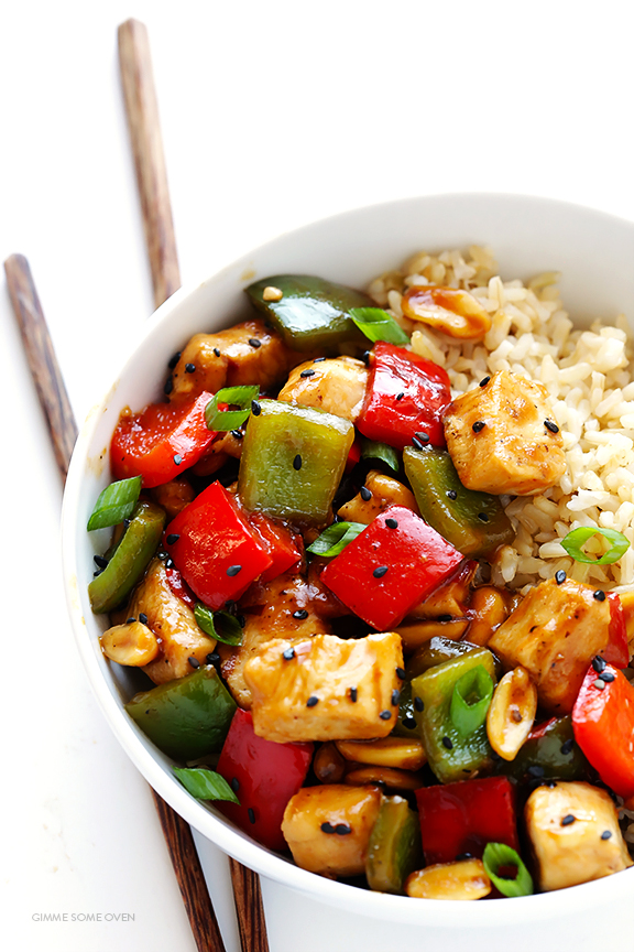 Kung-Pao-Chicken | Gimme Some Oven | Low FODMAP recipes