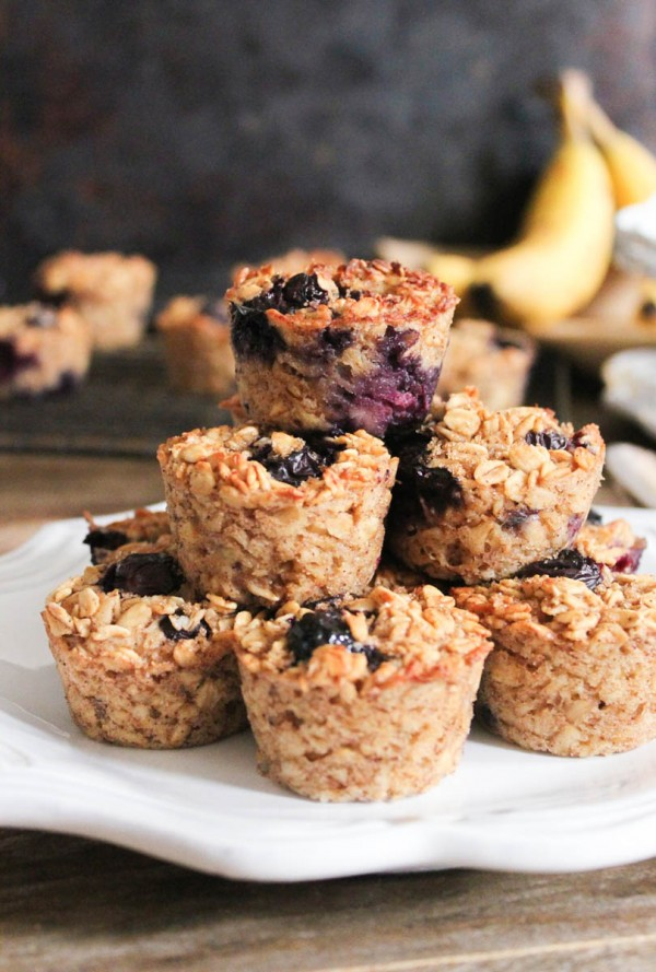 Berry Oatmeal Bites | Low FODMAP Recipes