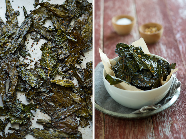 Spicy Kale Chips | Low FODMAP Recipes