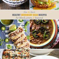 25 Healthy Weeknight Bean Recipes for Black, Pinto, and Beyond