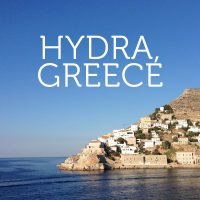 A Healthy Hedonist's Guide to Hydra, Greece