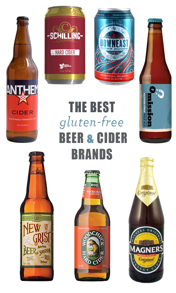 The Best Gluten-Free Beer and Cider Brands (available in US and Canada) | Feed Me Phoebe