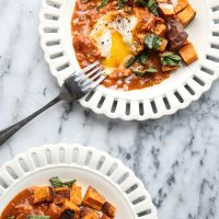 Masala-Style Baked Eggs in Purgatory