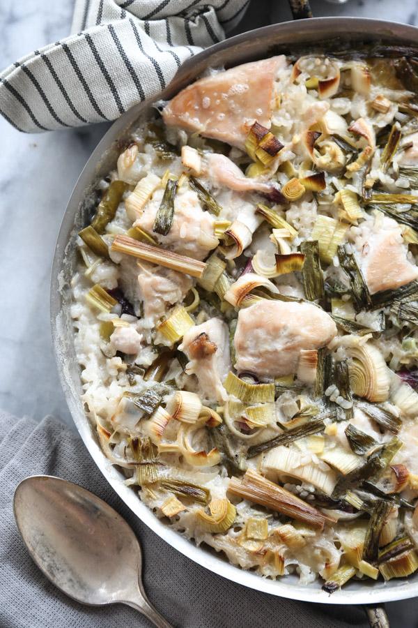 """Tom Kha Gai"" Thai Chicken and Rice Casserole"